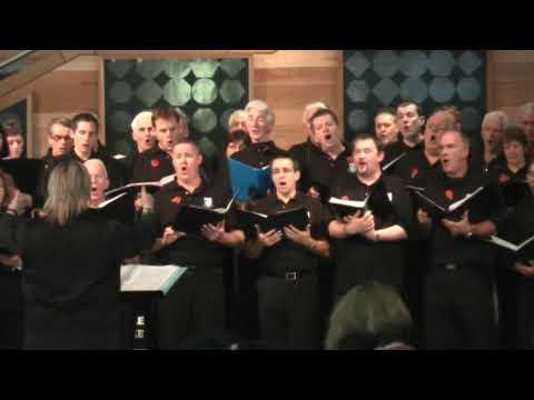 Pan Fo'r Nos Yn Hir - Côr Gleision Caerdydd ym Mae Caerdydd / Cardiff Blues Choir in Cardiff Bay