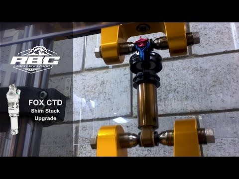 Fox CTD Shim Stack Tune - YouTube
