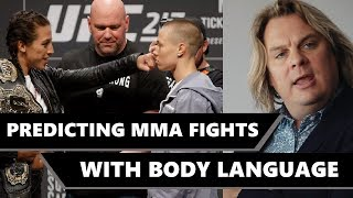 Predicting MMA fights with Body Language