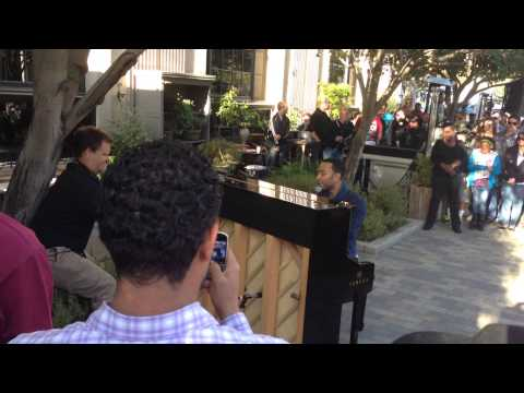 John Legend - All Of Me (Culver City Hotel Pop Up)
