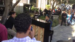 john legend all of me culver city hotel pop up
