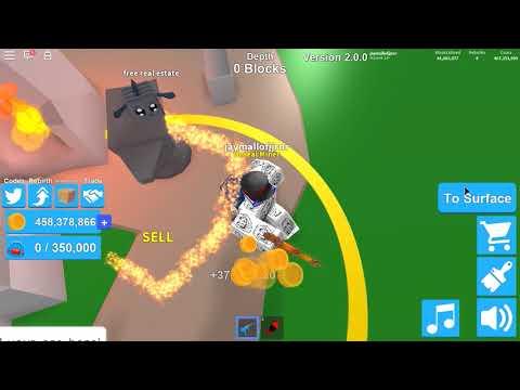 Going deep (Mining Simulator) | Roblox |