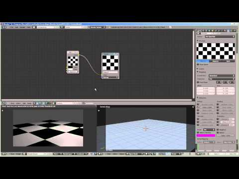 How To: Blender 2.6 e003 P1 - Texture Node Basics