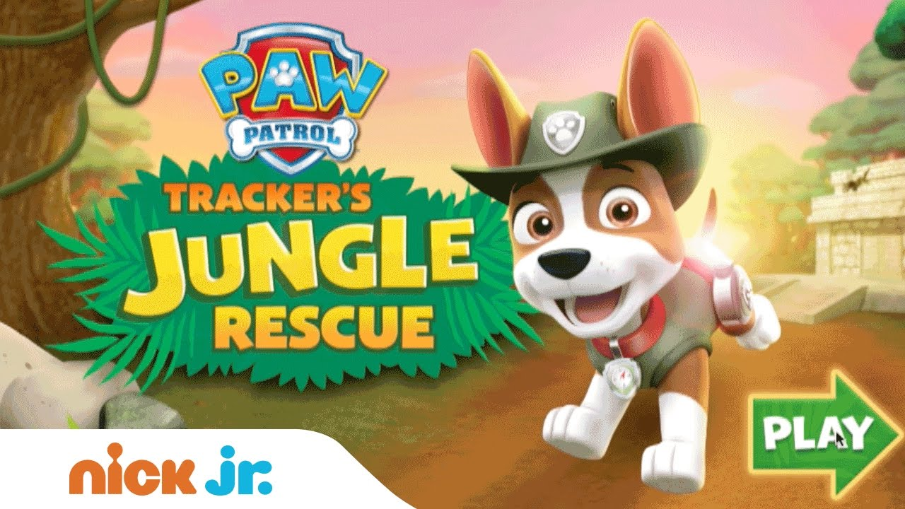 Play PAW Patrol 'Tracker's Jungle Rescue' For Free