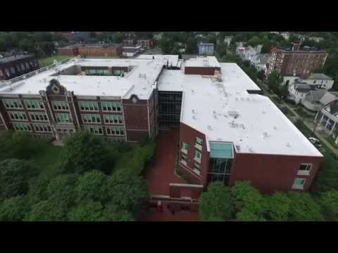 DJI Phantom3 Professional: Binghamton, NY: Binghamton High School [360]