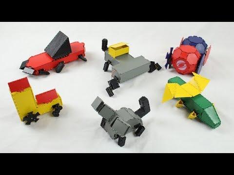 Robogami: 3D Printing Foldable Robots