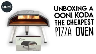 Unboxing A Ooni Koda Oven - The Cheapest and Smallest Pizza Gas Oven Review