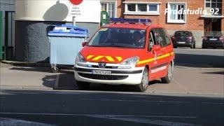 SDIS 59 Départ FPT1 et VLC Sapeurs Pompiers de Dunkerque