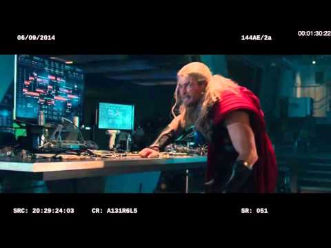 Avengers: Age of Ultron: Vision Fight Deleted Scene - Paul Bettany