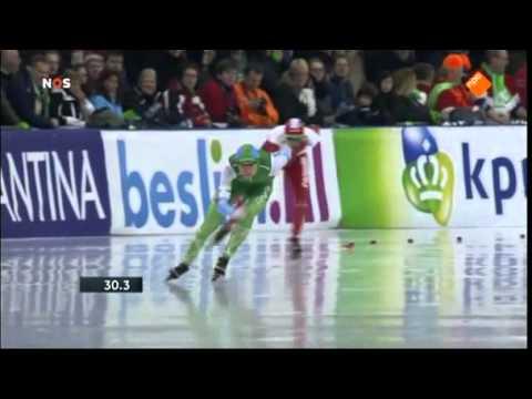 Schaatsen NK Sprint 2015 - Bente van den Berge (1000m 2e)