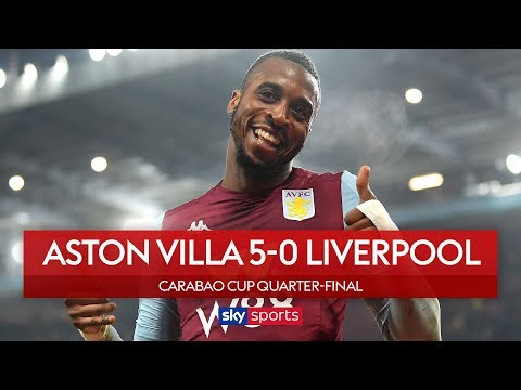 Villa hit five past Liverpool youngsters! | Aston Villa 5-0 Liverpool | Carabao Cup Highlights