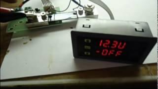 Обзор работы ваттметра постоянного тока 0-90В 0-100А четыре в одном
