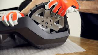 How to install the Terrain Kit on a 400 series Husqvarna Automower®