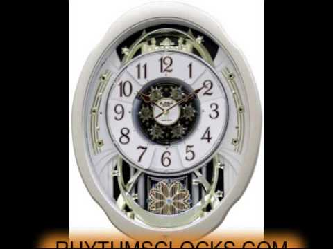 MARVELOUS SMALL WORLD MUSICAL MOTION RHYTHM CLOCK MODEL 4MH842WD18 30 MELODIES
