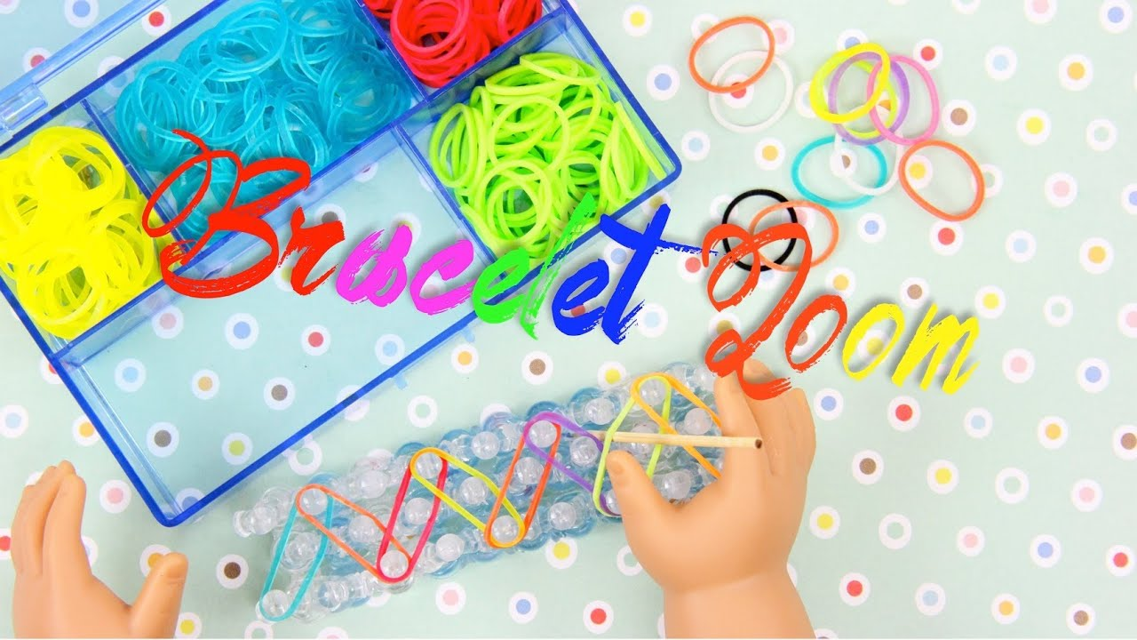 How To Make A Doll Rubberband Bracelet Loom Doll Crafts