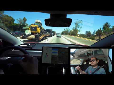 tesla-model-3-autopilot-fsd-beta-local-roads-and-highway-|-los-angeles