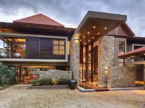 HOUSE DESIGN WITH ZEN INTERIOR DESIGN AND JAPANESE INFLUENCES EXTERIOR