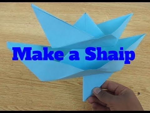 how to make a paper sailboat origami.make a boat