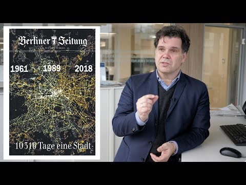 """Die """"Mauer-Ausgabe"""" der """"Berliner Zeitung"""" - Chefredakteur Jochen Arntz"""