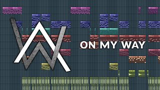 Alan Walker, Sabrina Carpenter & Farruko - On My Way - Remake by Falubii + FLP