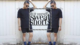 DIY: Sweat Shorts + OOTD! ♡☯ Thumbnail