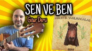 EN KOLAY ŞARKI / Dolu Kadehi Ters Tut - Sen Ve Ben (Gitar Dersi)