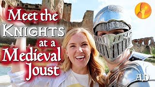 We meet the Knights at a Medieval Joust!  | Maddie Moate