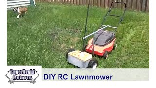 RC Lawmower DIY parts from SuperDroid Robots