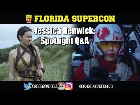 Jessica Henwick Q&A at Florida Supercon 2016