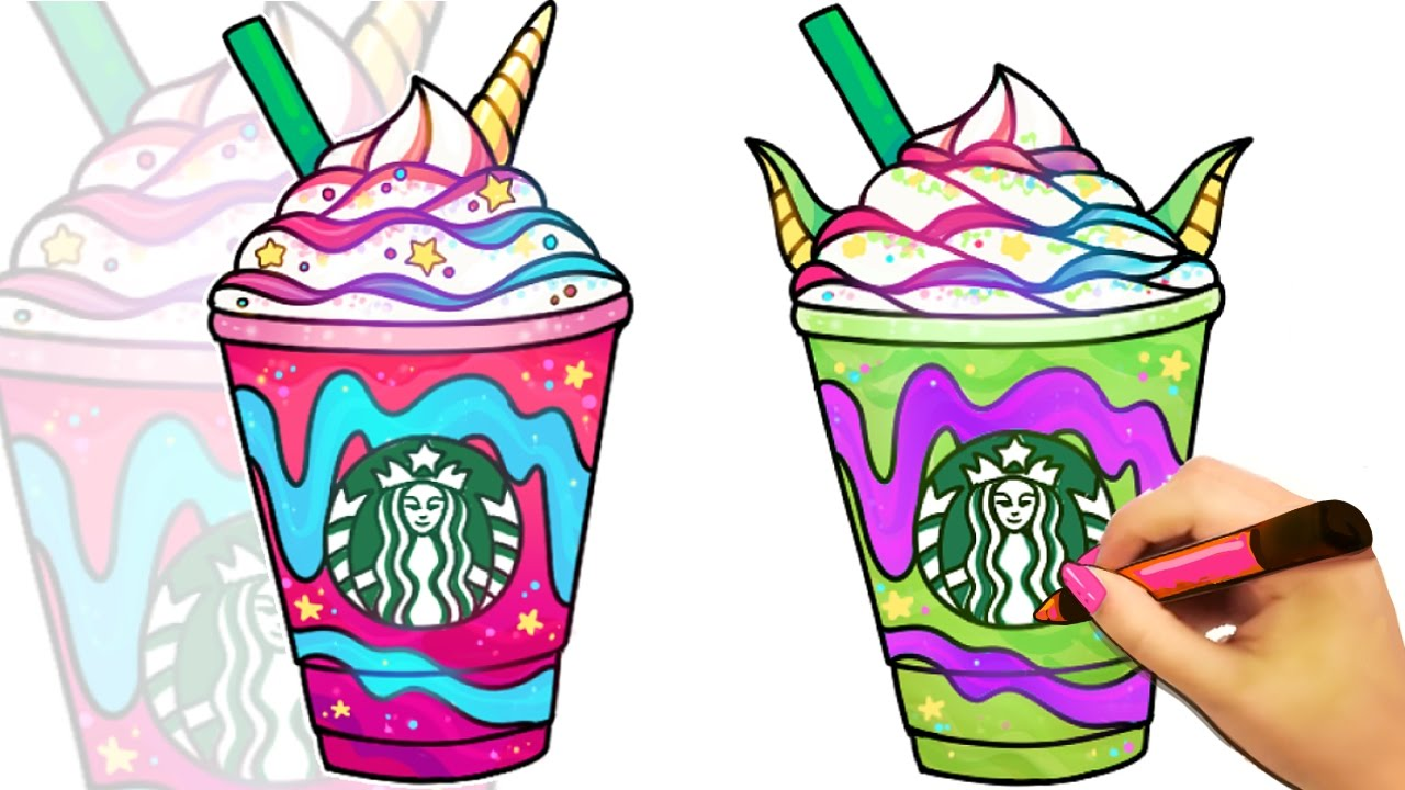Kawaii Unicorn Emoji Coloring Pages
