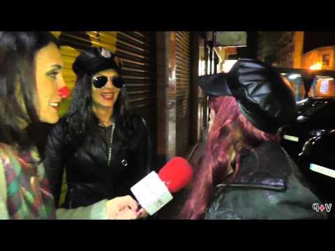 Ponteareas Sábado de Entroido, Festival de disfraces, para www.quemasver.com con Cristina Maró