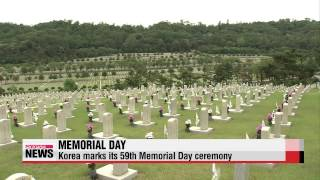 Memorial Day ceremony in Korea