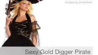Women's Sexy Pirate Costumes for Halloween