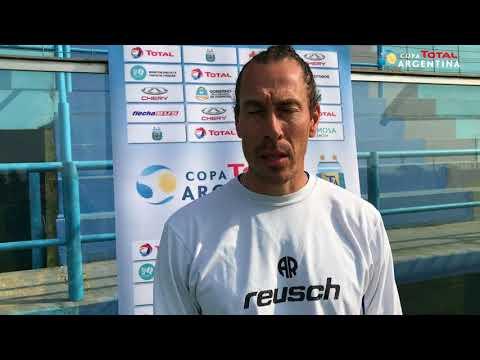 Lucas Bovaglio - entrenador de Atlético de Rafaela