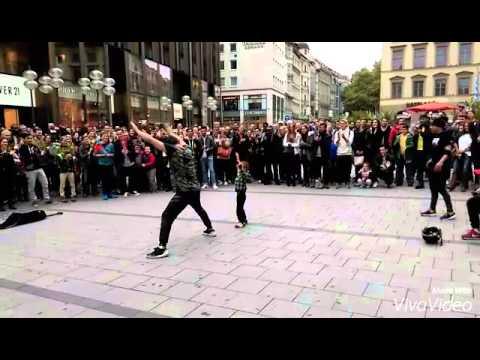 Breakdance in munich city