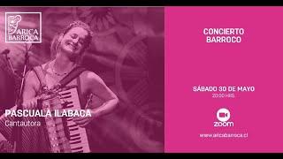 Conciertos Barrocos - Pascuala Ilabaca