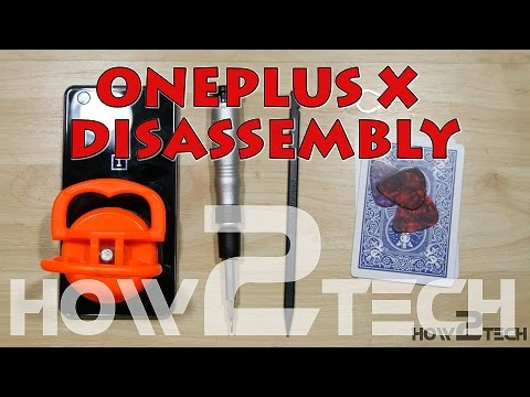 One Plus X  Screen Repair, Charging Port fix, battery Replacement - Disassembly Teardown