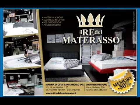 IL RE DEL MATERASSO Memory Matrimoniale Offerta 290,00! - YouTube