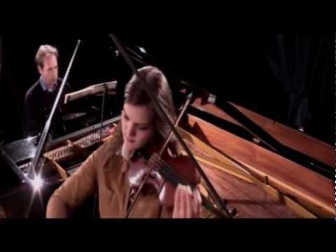 Mozart violin sonata K 301 Marlene Hemmer, violin & Jochem Geene, piano