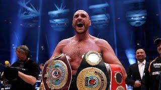 Boxe: le champion du monde Tyson Fury suspendu provisoirement