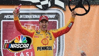 NASCAR Cup Series FireKeepers Casino 400 | EXTENDED HIGHLIGHTS | 6/10/19 | Motorsports on NBC