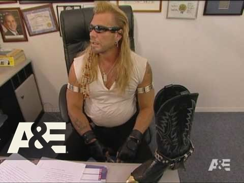 dog the bounty hunter a bounty hunter needs his boots a