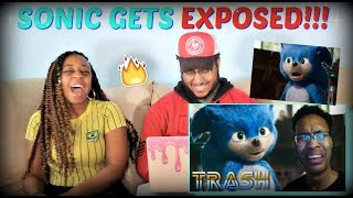 "Berleezy ""SONIC THE HEDGEHOG MOVIE: EXPOSED"" REACTION!!"