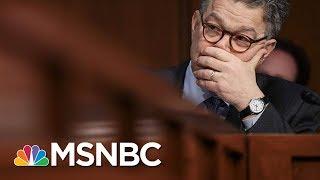 Growing List Of Democrat Senators Call On Al Franken To Resign | Andrea Mitchell | MSNBC