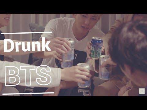 If BTS Members were Drunk - CRACK