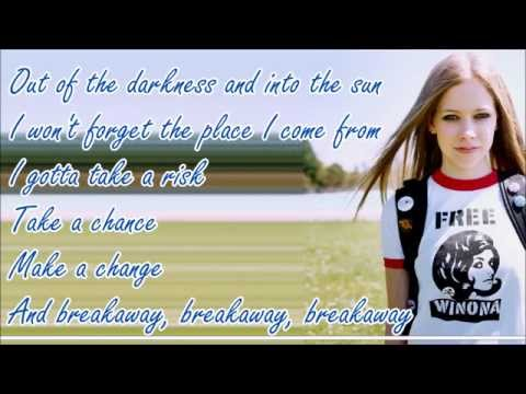 Avril Lavigne - Breakaway (Lyric Video)