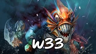 [Dota2] w33 Pro Slark Ranked Game 7700+ MMR