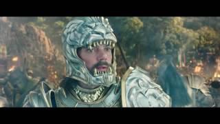 Битва орков и людей. Нападение на лагерь орков. Варкрафт. Warcraft 2016