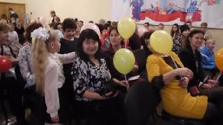 День Учителя 3 школа город Псков