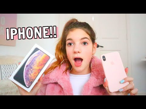 iPhone XS MAX shopping AND unboxing